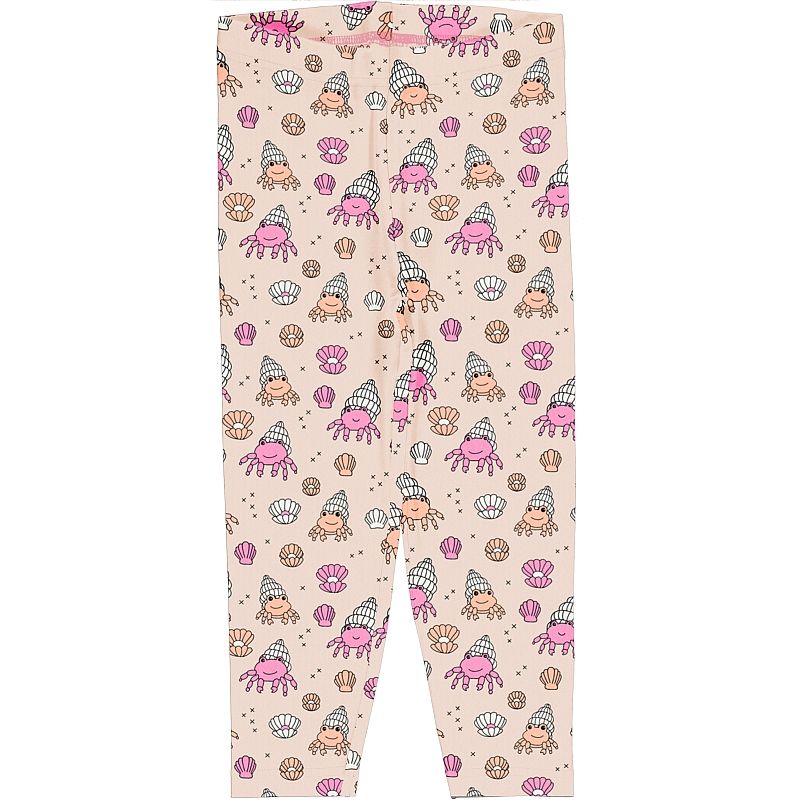 Meyadey  Cropped Shelly Crab Leggings