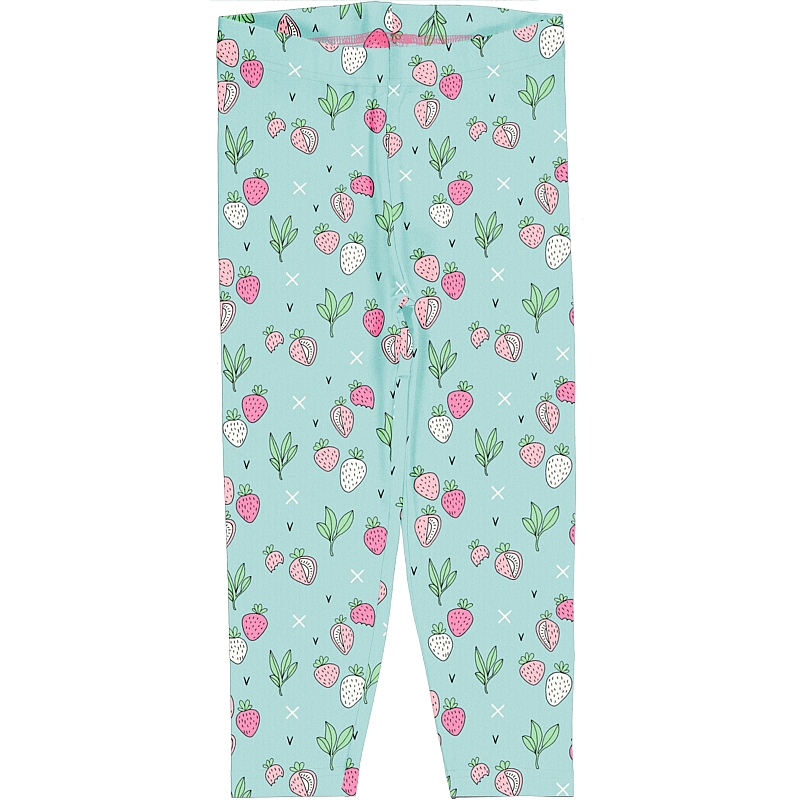 Meyadey  Cropped Strawberry Fields Leggings