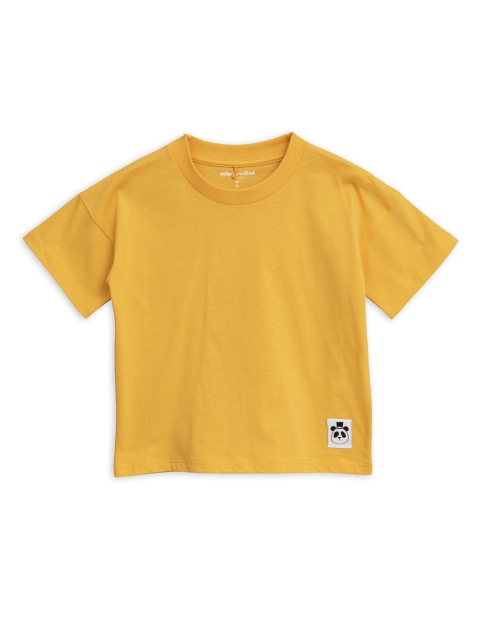 Mini Rodini  Solid ss Tee yellow