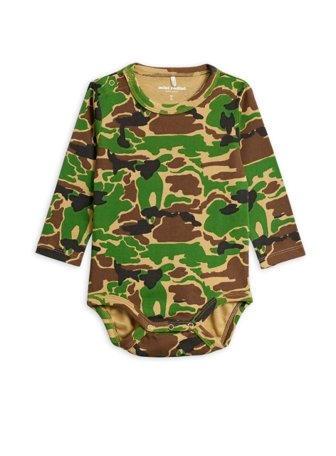 Mini Rodini Camo Body green