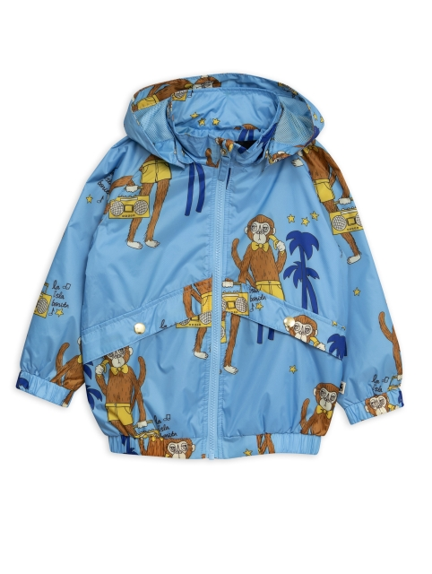 Mini Rodini  Cool Monkey Sporty jacket Kuoritakki Light blue