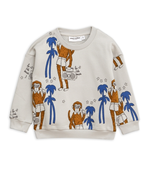 Mini Rodini  Cool monkey Sweatshirt grey