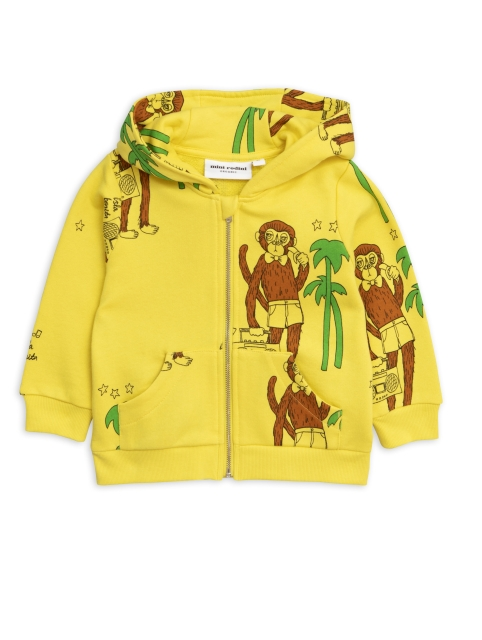 Mini Rodini  Cool monkey Ziphood yellow