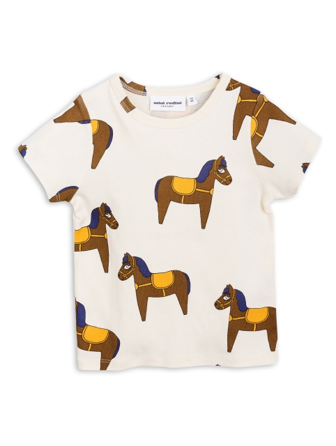 Mini Rodini Horse Ss Tee yellow