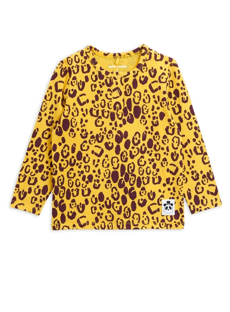 Mini Rodini Leopard Grandpa Yellow