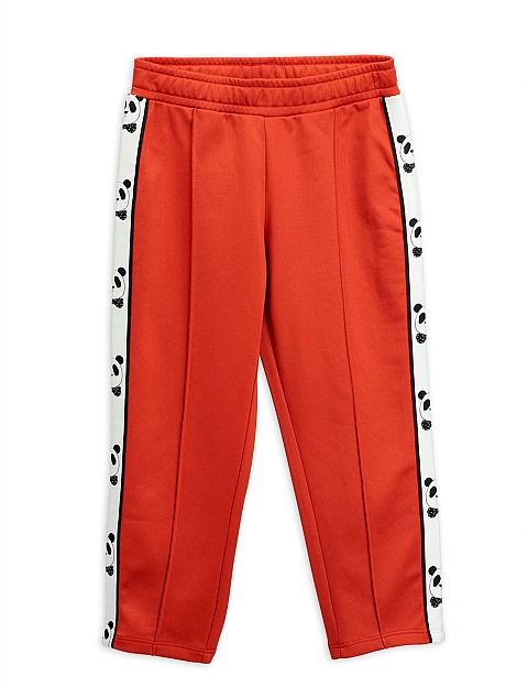 Mini Rodini   Panda wct Pants red