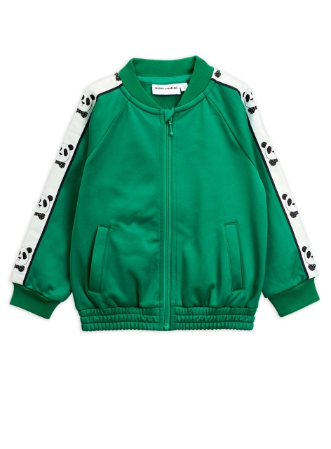 Mini Rodini   Panda wct Jacket Green