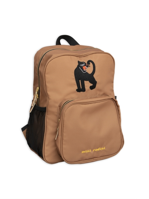 Mini Rodini  Panther  School Bag beige