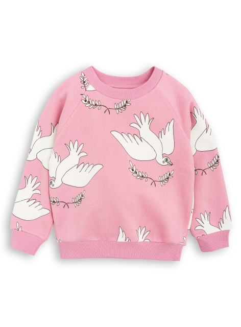 Mini Rodini Peace Sweatshirt pink