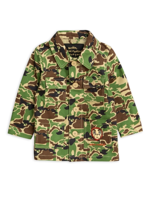 Mini Rodini  Safari Jacket Green
