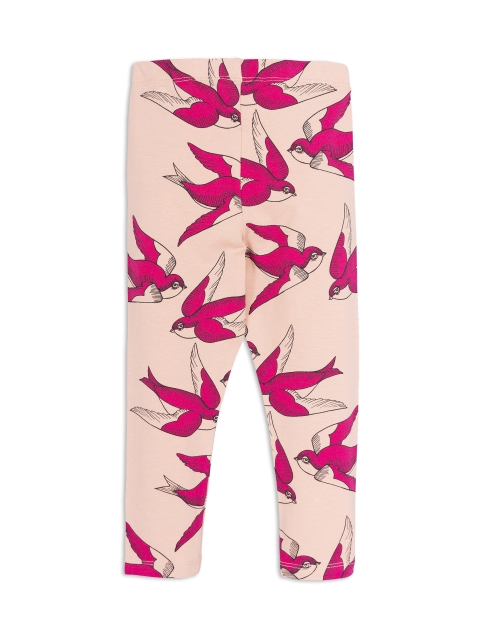 Mini Rodini Swallows Leggings Pink