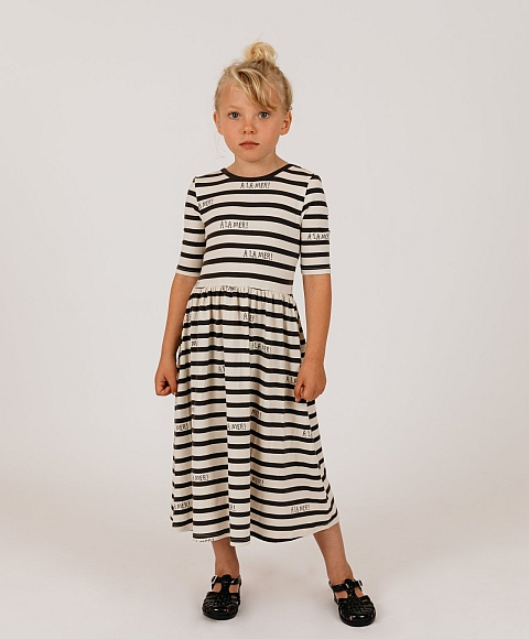 Mini Rodini  A la mer dress Tencel