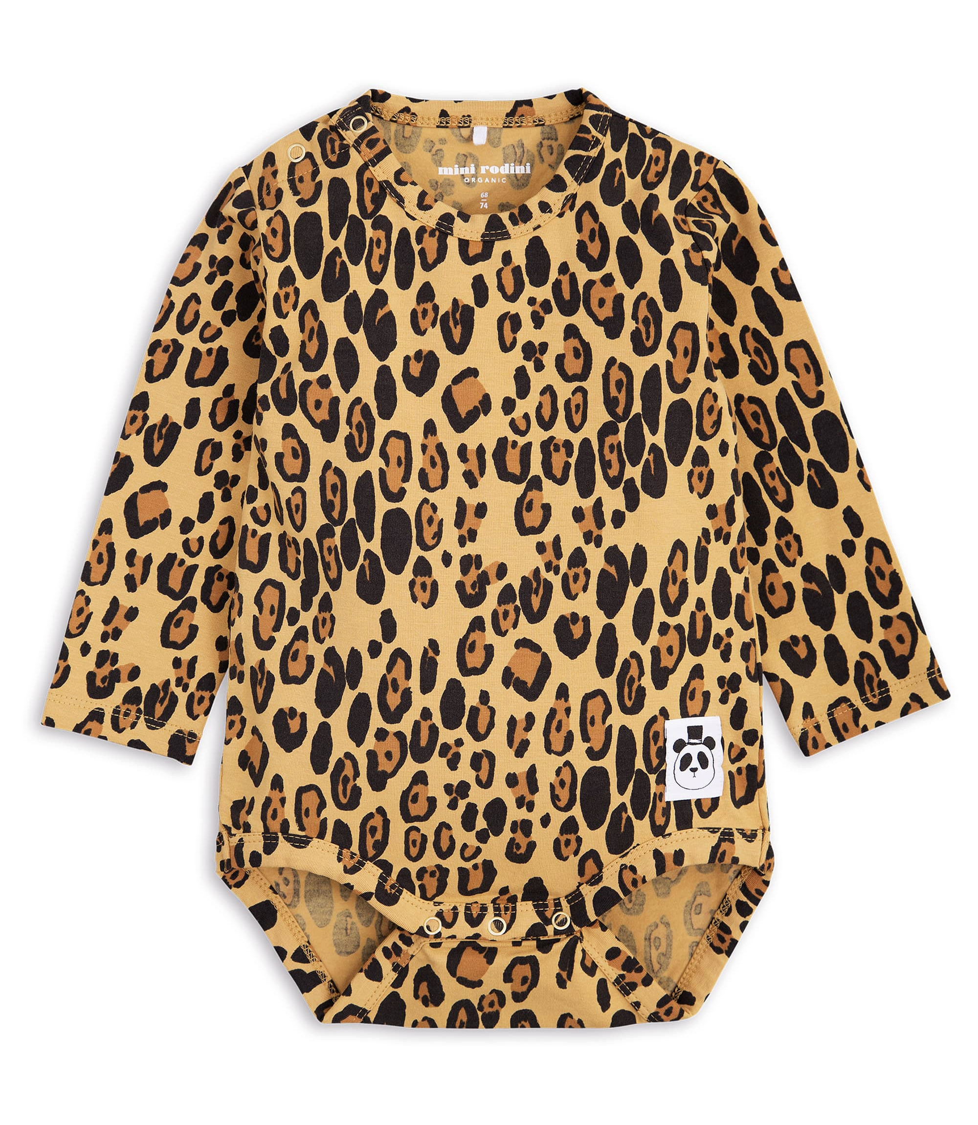 Mini Rodini Leopard Body Beige