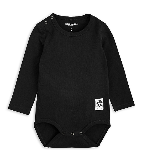 Mini Rodini Basic Body black
