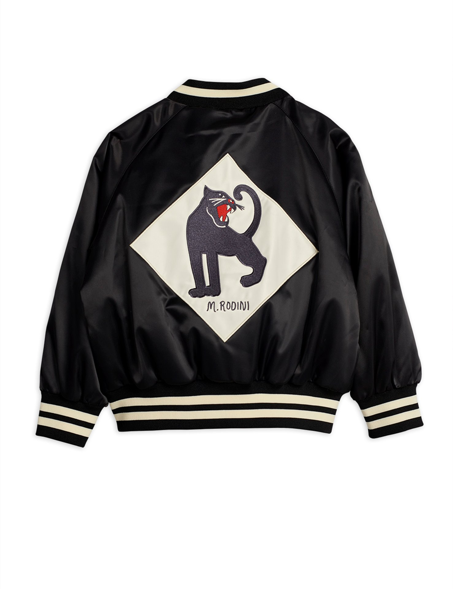 Mini Rodini  Panther Baseball coat black