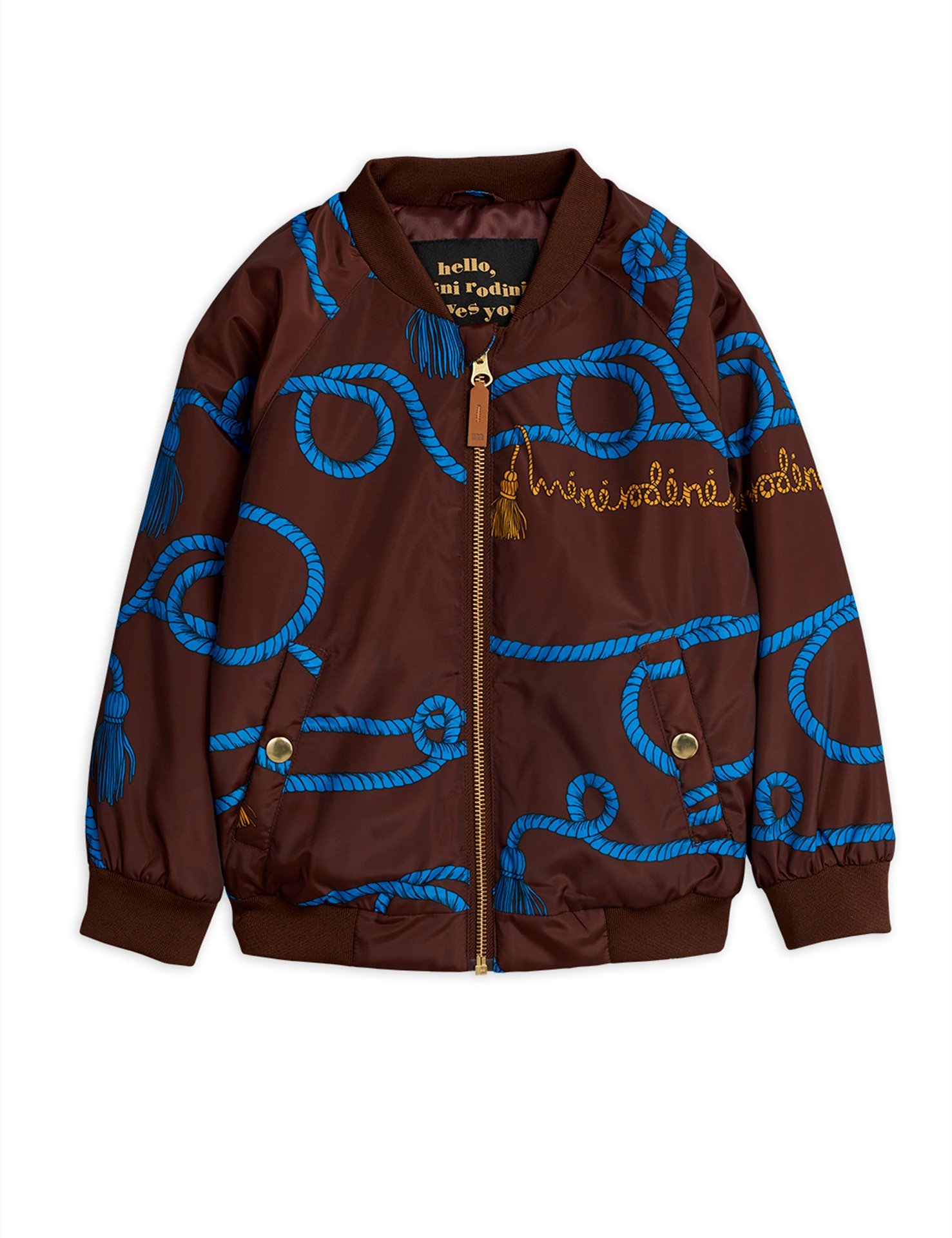 Mini Rodini  Robe Baseball coat Brown