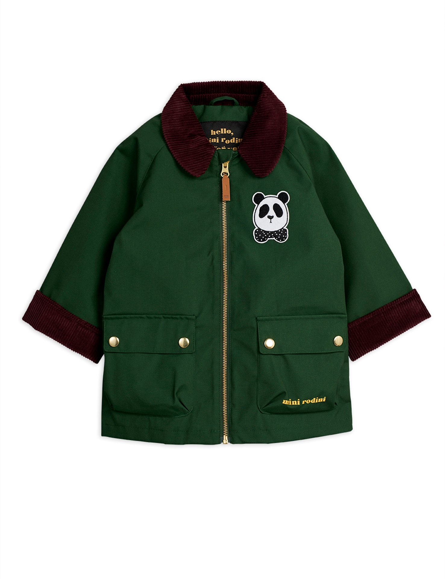 Mini Rodini  Coutry Jacket dark green