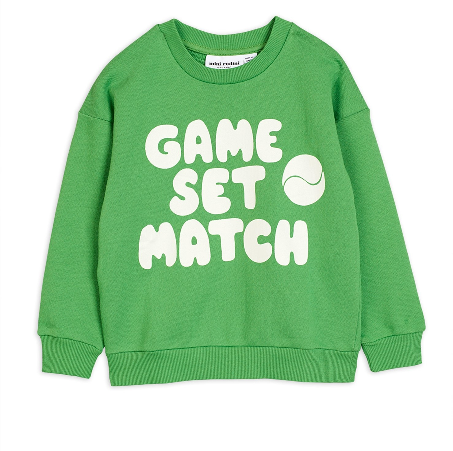 Mini Rodini Game sp Sweatshirt green