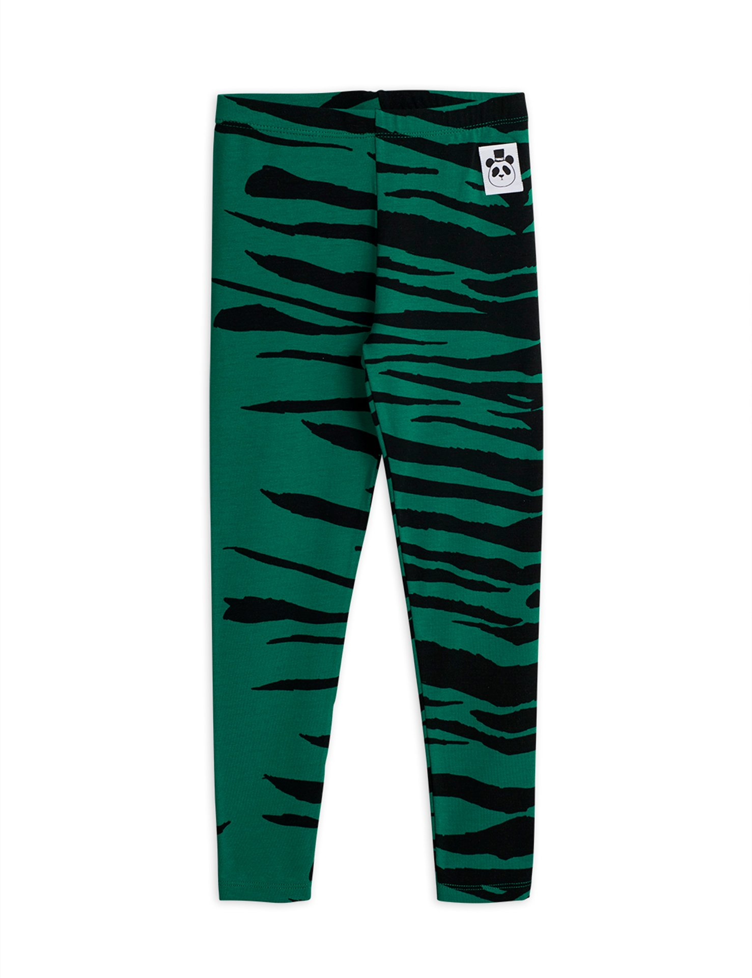 Mini Rodini  Tiger  leggings green