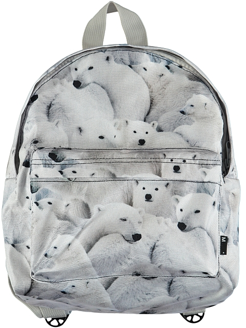 Molo Kids Backpack Polar Bear Jersey