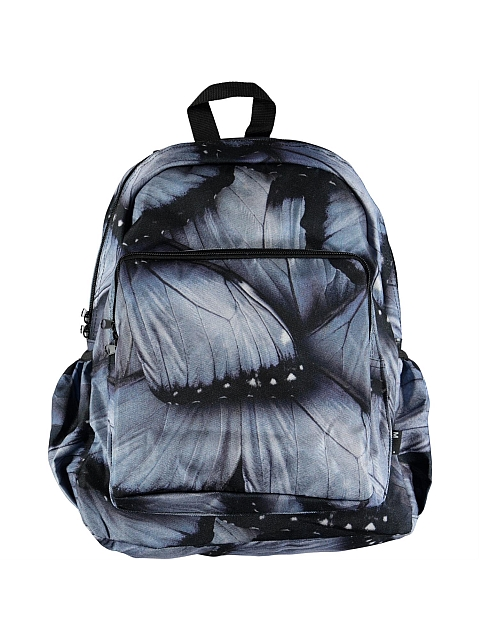 Molo Kids Big Backpack Velvet wings jersey