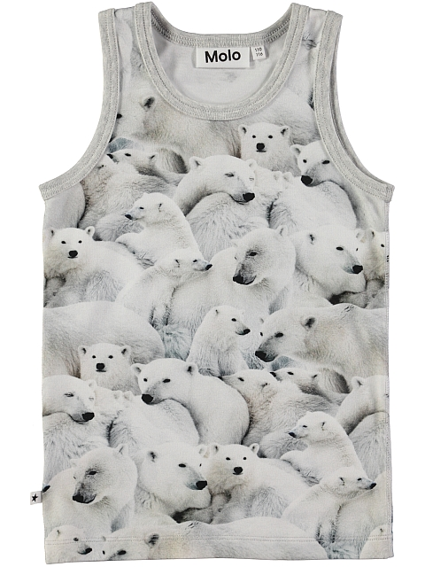 Molo Kids Joshlyn Toppi Polar bear Jersey