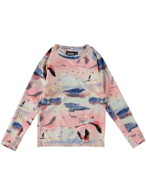Molo Kids Neptune Long Uintipaita Flamingo