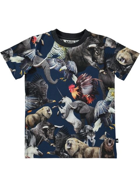 Molo Kids Ralphie National animals T-paita