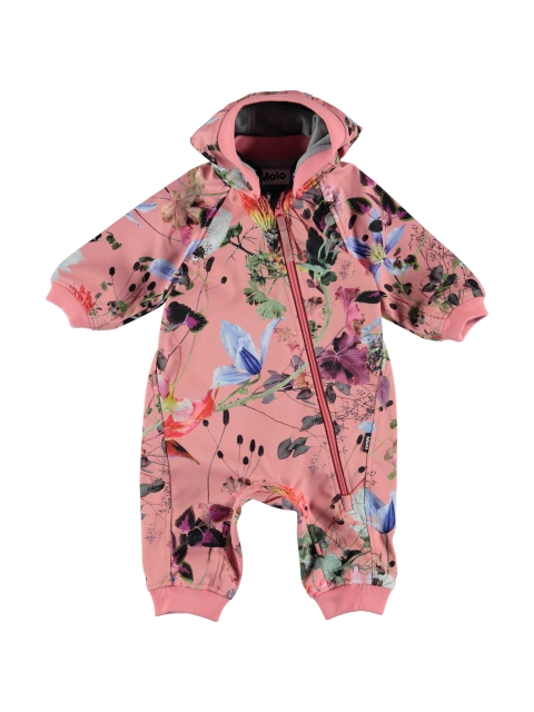 Molo Kids  Hill Flowers Of The World soft shell haalari