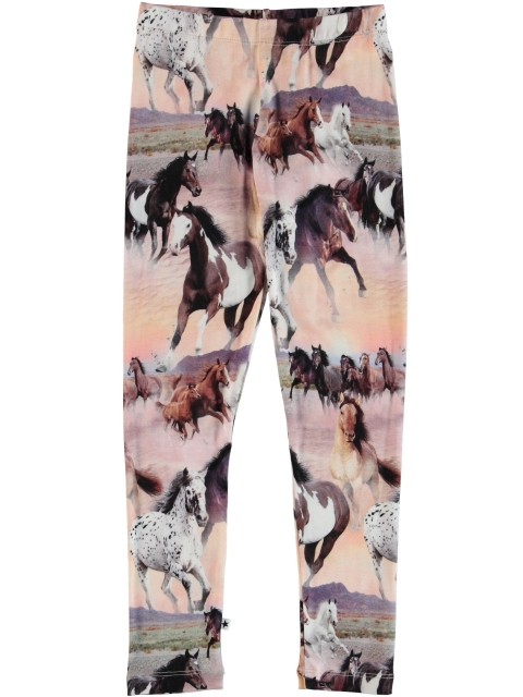 Molo Kids Niki Wild Horses Leggings