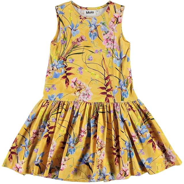 Molo Kids Candece The Art of Flowers dress