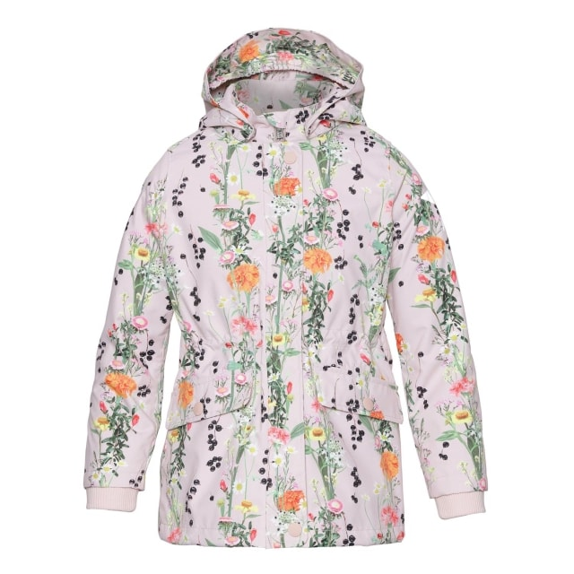 Molo Kids Carole Vertical Flowers  Coat
