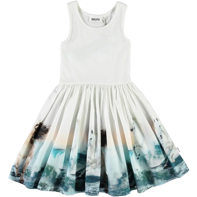 Molo Kids Cassandra Wild Horses dress