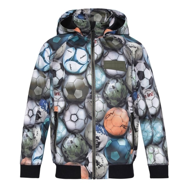 Molo Kids  Cloudy Football camo  soft shell Jacket