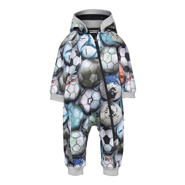Molo Kids  Hill Football Camo  soft shell suit