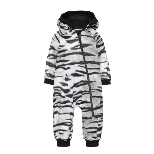 Molo Kids  Hill Tiger White  soft shell suit