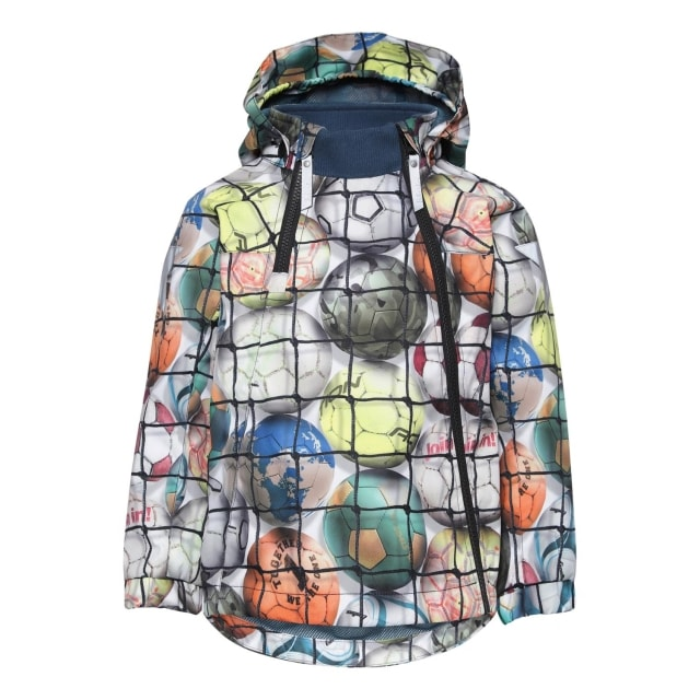 Molo Kids  Hopla Footballs Coat