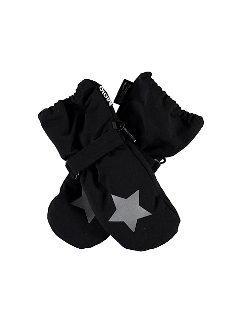 Molo Kids Igor Very black Mittens