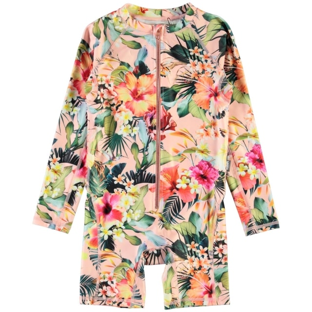 Molo Kids Neka Hawaiian Flowers  UPF