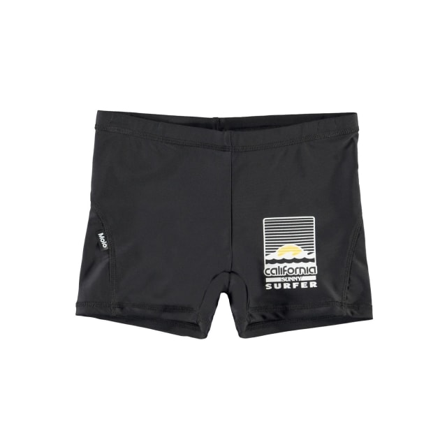 Molo Kids Norton solid  Black swimpants