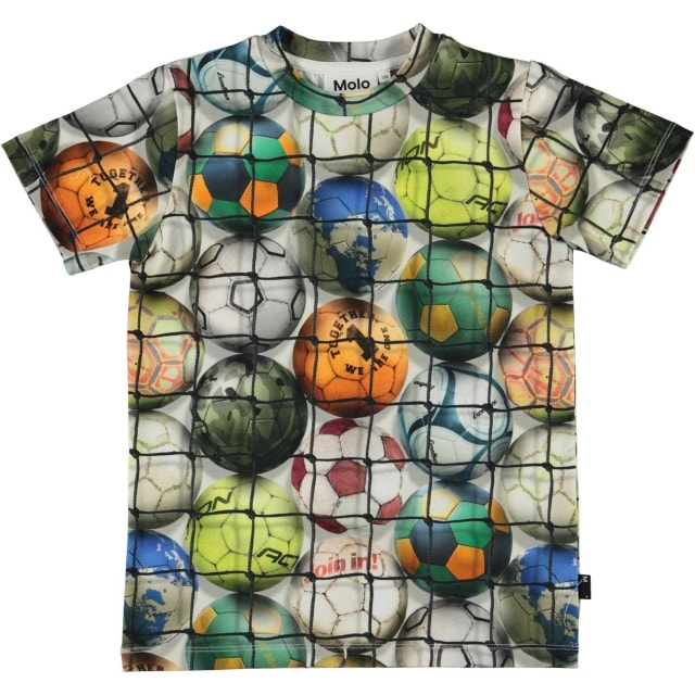 Molo Kids Ralphie Footballs shirt