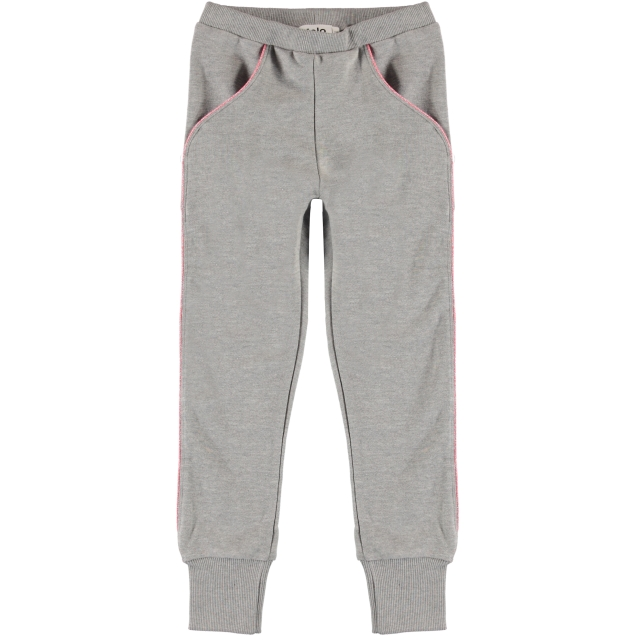 Molo Kids Anja Pants grey melange