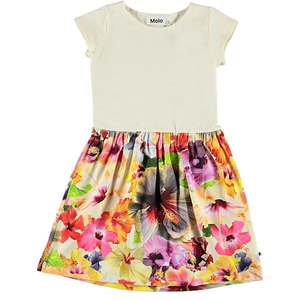 Molo Kids Carla Pacific Floral  dress