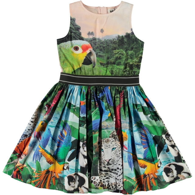 Molo Kids Carli Jungle Dreaming  dress