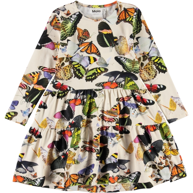 Molo Kids Chia Papillon dress