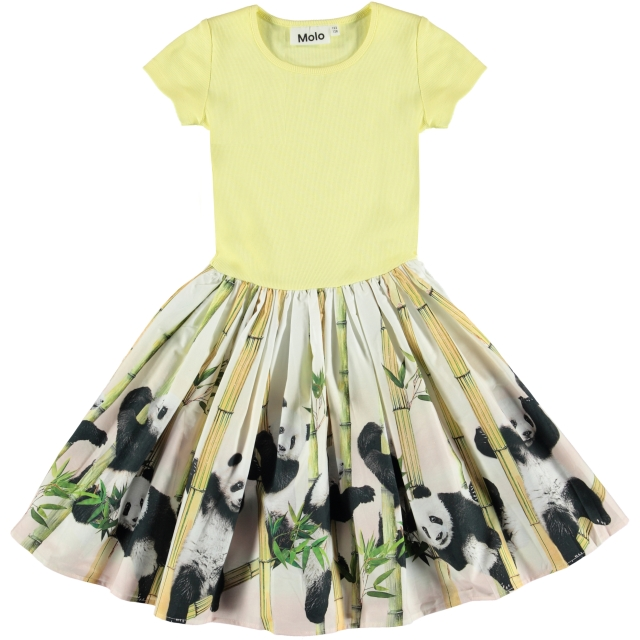 Molo Kids Cissa Panda party dress