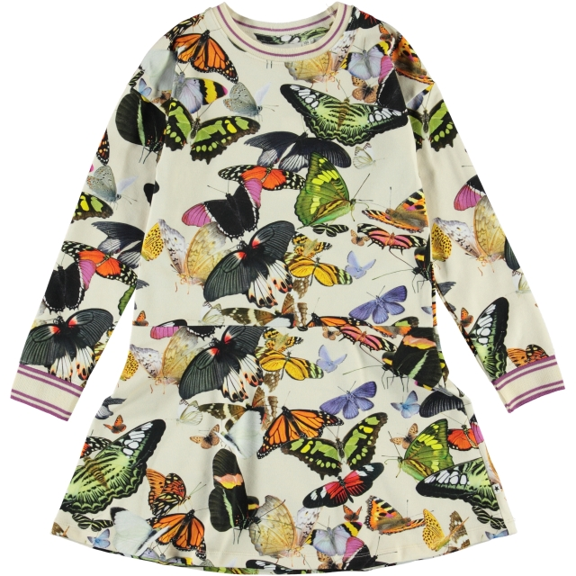 Molo Kids Conny Papillon dress