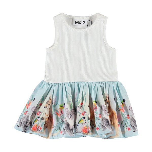 Molo Kids Cordelia Little Friends Dress