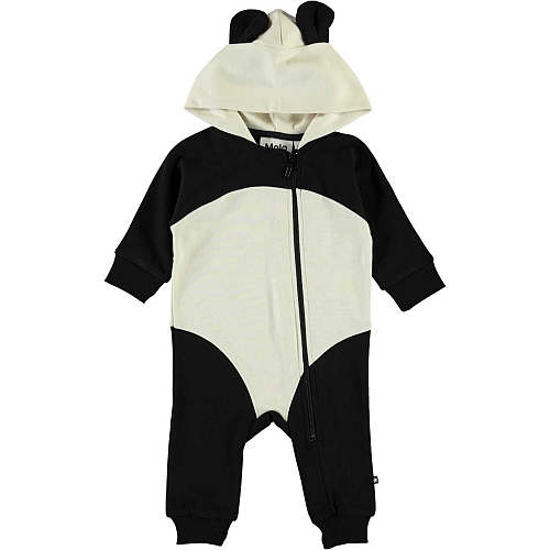 Molo Kids Flossie Jumpsuit Black/white