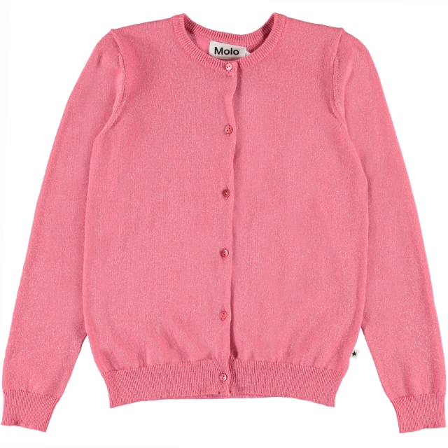 Molo Kids Georgina  pink lemonade Cardigan